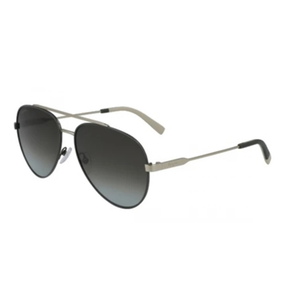Picture of Salvatore Ferragamo Aviator Sunglasses - Gold/Forest Green