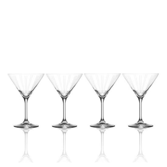 Picture of Mikasa Berlin 9.5oz. Martini Glasses - Set of 4