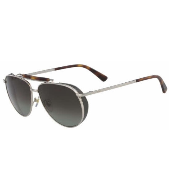 Picture of MCM Metal Frame Aviator Sunglasses - Gold/Khaki