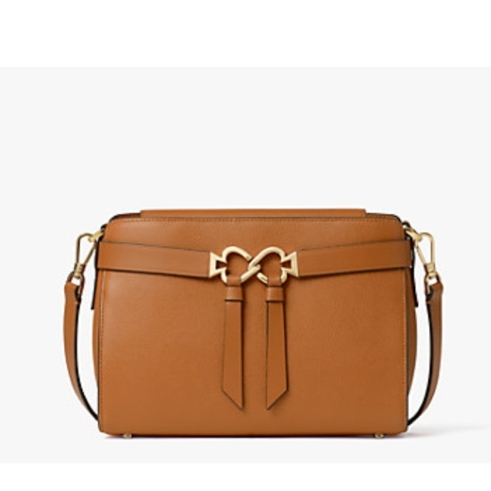 Picture of Kate Spade Toujours Medium Crossbody - Warm Gingerbread