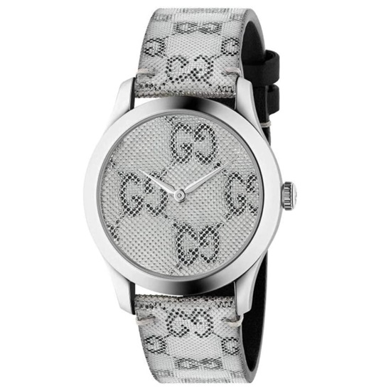 Picture of Gucci G-Timeless GG Silver Hologram Dial Watch