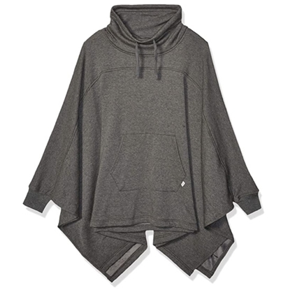 Picture of UGG Ladies' Charlynne Poncho - Charcoal Heather