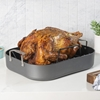 Picture of Viking Hard Anodized Roaster with Rack and Carving Set