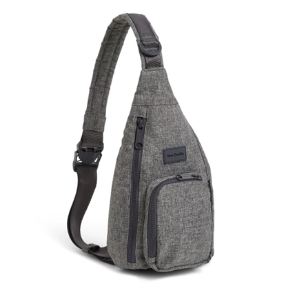 Picture of Vera Bradley ReActive Mini Sling Backpack - Gray Heather