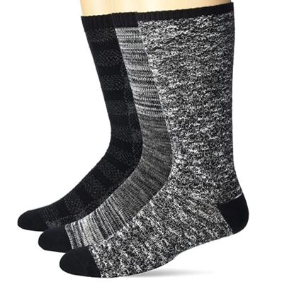 Picture of UGG Men's Bennett Crew Sock Set - Black Multi