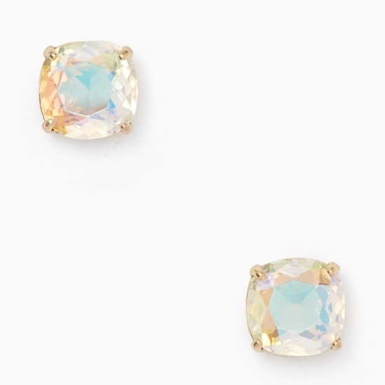 Picture of Kate Spade Earrings Small Square Stud Earrings - Iridescent