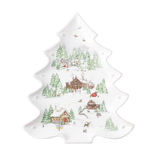 Picture of Juliska Berry & Thread North Pole Tree Platter
