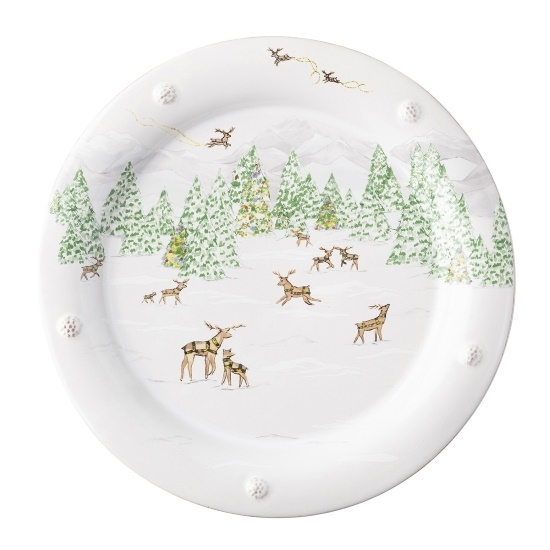 Picture of Juliska Berry & Thread North Pole Dinner Plate