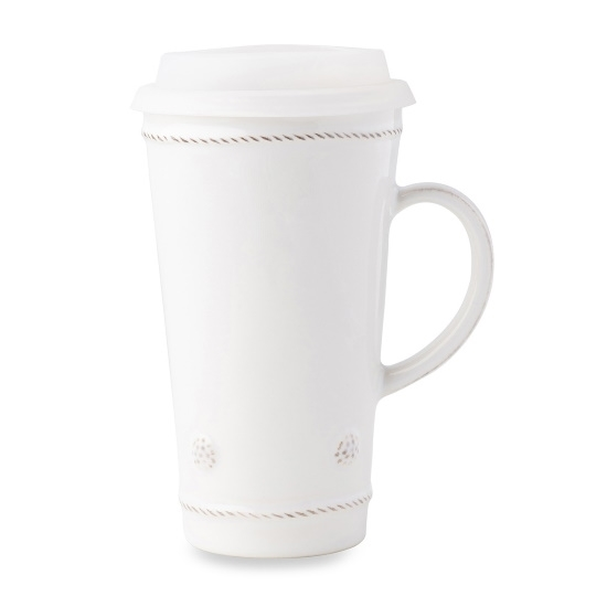 Picture of Juliska Berry & Thread Travel Mug with Silicone Lid