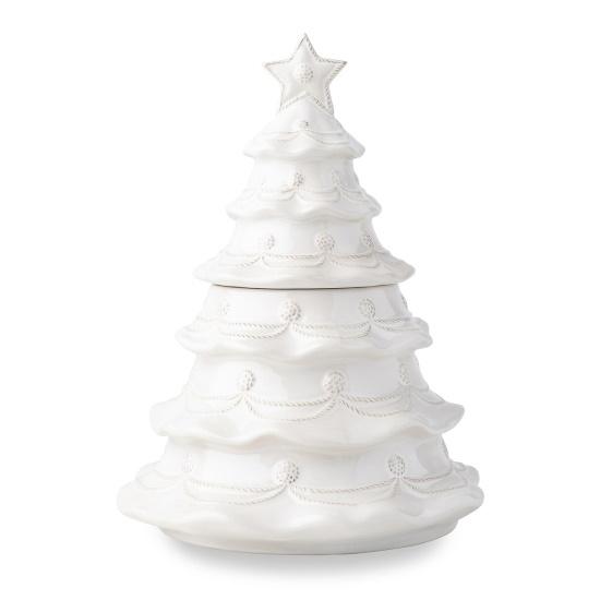 Picture of Juliska Berry & Thread Christmas Tree Cookie Jar