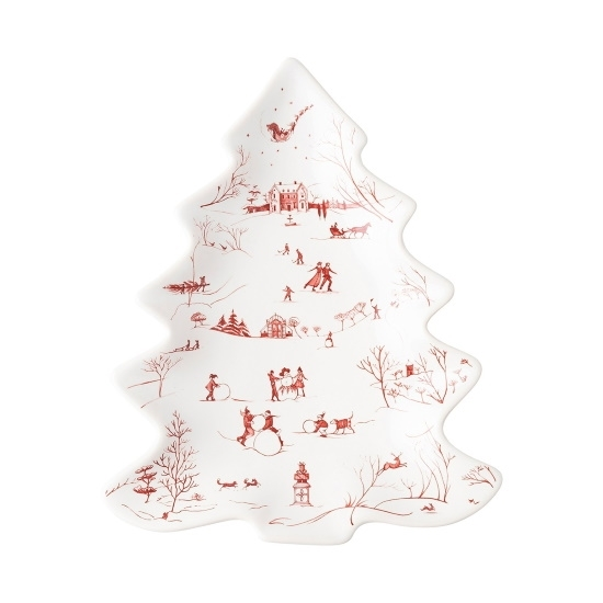 Picture of Juliska Country Estate Winter Frolic Tree Tray
