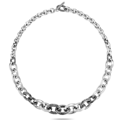 Picture of John Hardy Classic Chain Knife Edge Link Necklace - Size 18