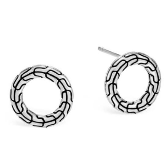 Picture of John Hardy Women's Classic Chain 12.5mm Stud Earrings