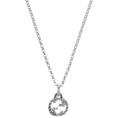 Picture of Gucci Interlocking G Open Pendant Necklace