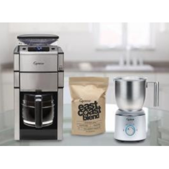 Picture of Capresso 487 & Jura Froth Select Bundle with Coffee Beans