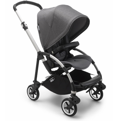 Picture of Bugaboo Bee6 City Stroller - Aluminum/Grey/Grey Melange