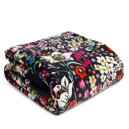 Picture of Vera Bradley Plush Throw Blanket