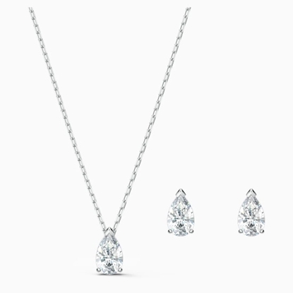 Picture of Swarovski Attract Pear Set