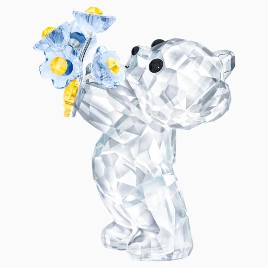 Picture of Swarovski Kris Bear - Forget Me Not