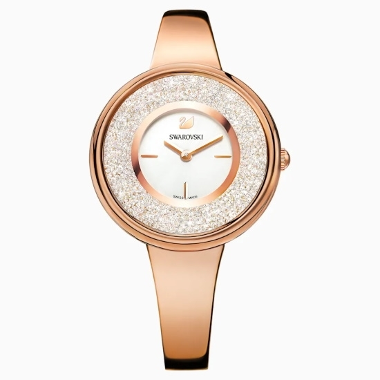 Picture of Swarovski Crystalline Pure Watch - Rose-Gold