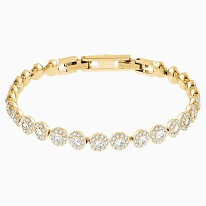 Picture of Swarovsk Angelic Bracelet - Gold-Tone