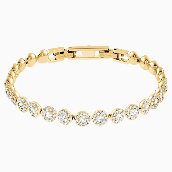 Picture of Swarovsk Angelic Bracelet - Gold-Tone