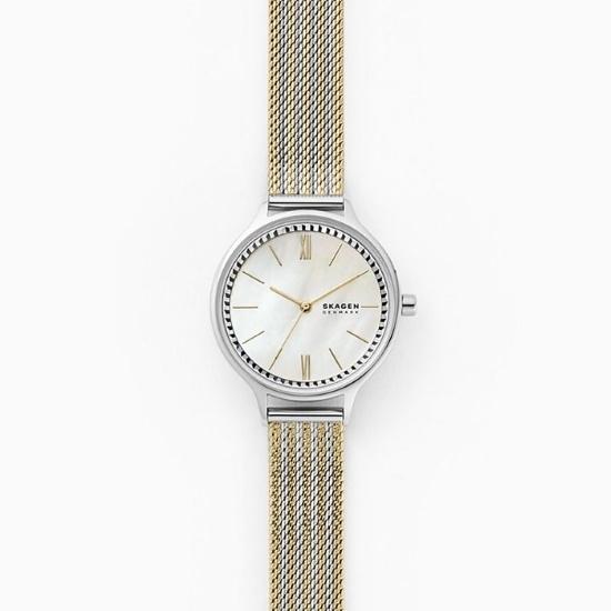 Picture of Skagen Anita Two-Tone Steel Mesh Watch