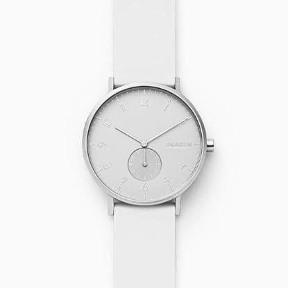 Picture of Skagen Aaren Kulor White Silicone 41mm Watch