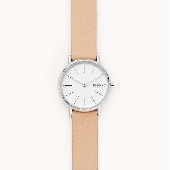 Picture of Skagen Signatur Two-Hand Pink Leather Watch