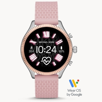 Picture of Michael Kors Gen 5 Lexington Smartwatch - Pink Silicone