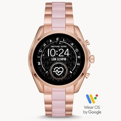 Picture of Michael Kors Gen 5 Bradshaw Smartwatch - Rose Gold & Blush