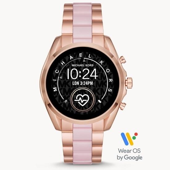 Picture of Michael Kors Gen 5 Bradshaw Smartwatch - Rose Gold & Blush