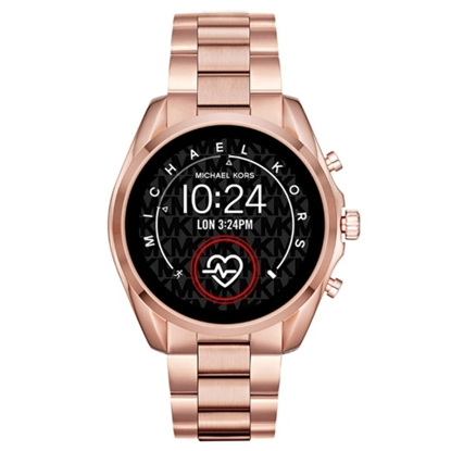 Picture of Michael Kors Gen 5 Bradshaw Smartwatch - Rose Gold/Black