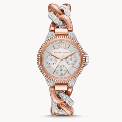 Picture of Michael Kors Camille Multifunction Two-Tone Steel Watch