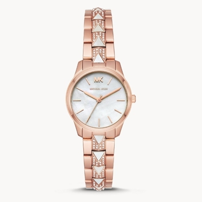 Picture of Michael Kors Runway Three-Hand Two-Tone Stainless Steel Watch