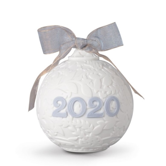 Picture of Lladro Christmas Ball 2020