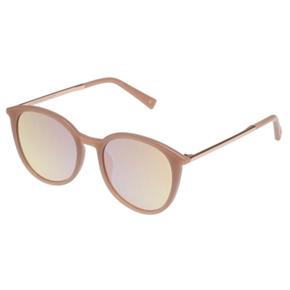 Picture of LeSpecs LeDanzing Sunglasses with Smoke Grad Rose Mirror Lens