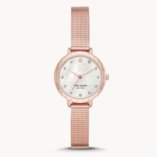 Picture of Kate Spade Morningside Mini Rose Gold-Tone Steel Watch