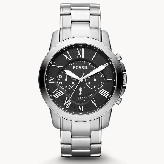 Picture of Fossil Grant Chronograph Stainless Steel Watch