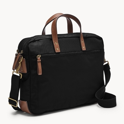 Picture of Fossil Haskell Briefcase - Black