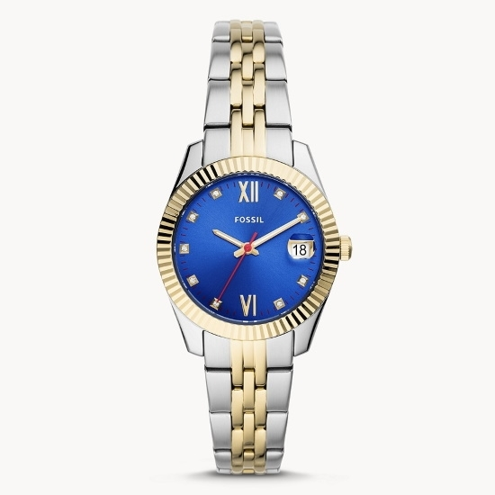 Picture of Fossil Scarlette Mini 3-Hand Two-Tone Stainless Steel Watch