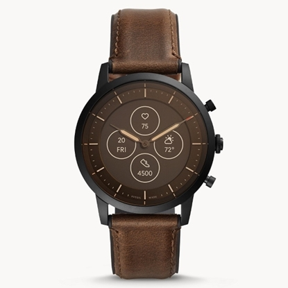 Picture of Fossil Hybrid Smartwatch HR Collider - Dark Brown Leather