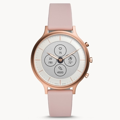 Picture of Fossil Hybrid Smartwatch HR Charter - Blush Silicone