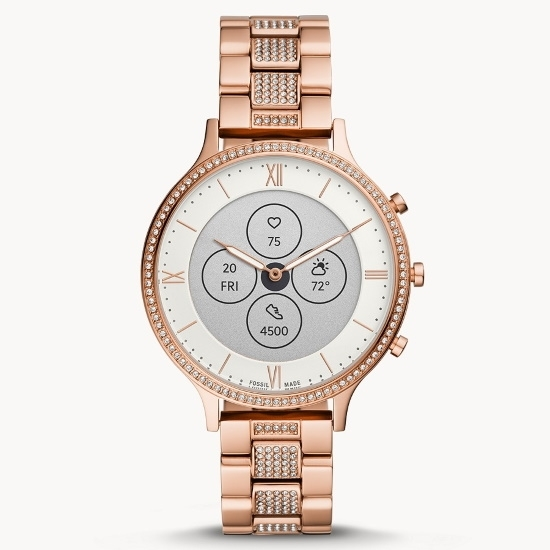 Picture of Fossil Hybrid Smartwatch HR Charter - Rose Gold-Tone