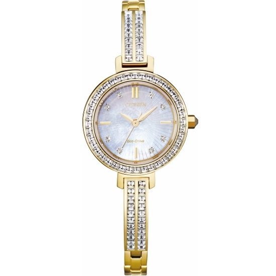 Picture of Citizen Silhouette Ladies' Crystal Bangle Watch