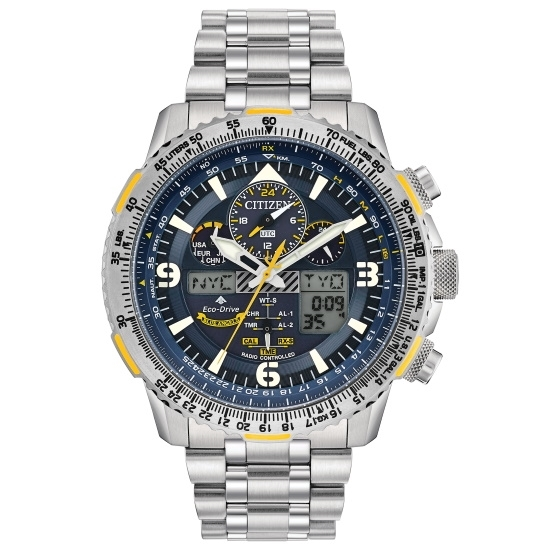 Picture of Citizen Promaster Skyhawk A-T Steel Watch with Blue Dial