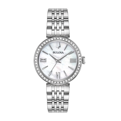 Picture of Bulova Ladies' Crystal Watch Set with Bracelet