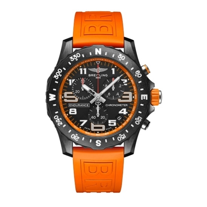 Picture of Breitling Endurance Pro Breitlight® with Orange Strap