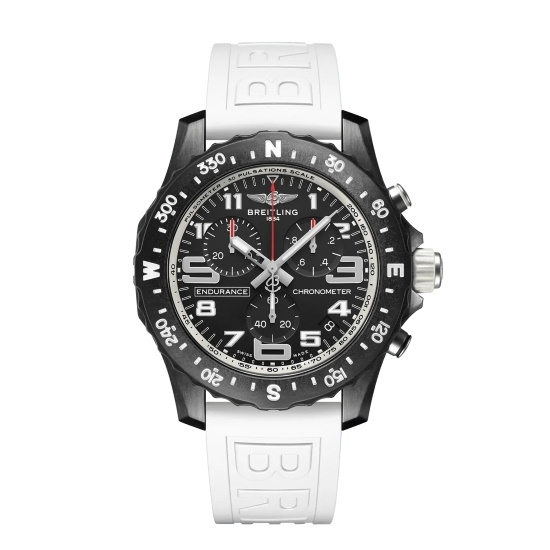 Picture of Breitling Endurance Pro Breitlight® with White Strap