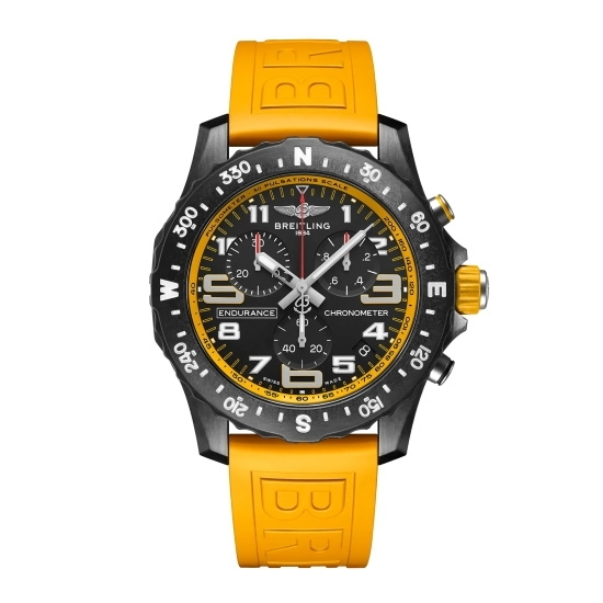Picture of Breitling Endurance Pro Breitlight® with Yellow Strap